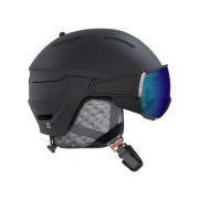 Salomon - Mirage Black/Rose Gold/Solar Snow Helmet