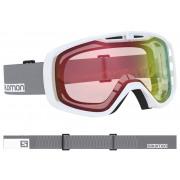 Salomon - Aksium Photo WH-Grey/AW Red Snow Goggle