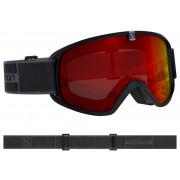Salomon - Trigger Black/Univ. MID RED Snow Goggle