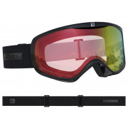 Salomon - Sense Photo BK/ALL Weather Red Snow Goggle