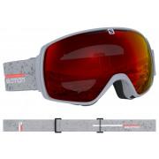 Salomon - XT One Grey Matt/Univ. Mid Red Snow Goggle