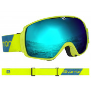 Salomon - XT One Neon Yellow/Solar Blue Snow Goggle