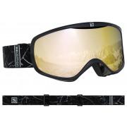 Salomon - Sense Black Marble/Solar BRONZ Snow Goggle