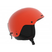 Salomon - Brigade Orange Pop Snow Helmet