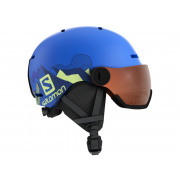 Salomon - Grom Visor Pop Blue Mat/Univer Snow Helmet