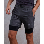 Superdry - Athletic double layer short
