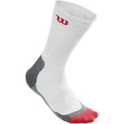 Wilson M Wht Crew Sock