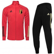 Adidas - Rode Duivels Trainingspak  RBFA TK SUIT Y GLORED/BLACK netto kids