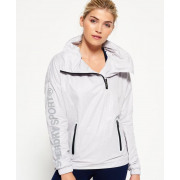 SUPERDRY GYM FUNNEL SHELL HOOD ICE PYTHON