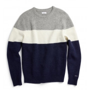 Mc Gregor -Pull Basketweave Crew Neck Sweater Heren