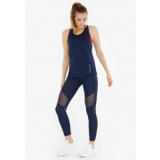 Tommy Sport - Legging with mesh Dames