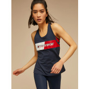Tommy  Sport - Sporttop Graphic Flag Tank Dames