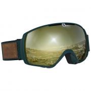 Salomon - XT One Sigma Green/Sol BkGold goggle