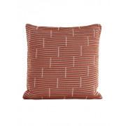 Still Brick vierkant sierkussen Amber - 50 x 50 cm