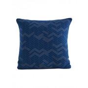 Still vierkant sierkussen Blauw - 50 x 50 cm
