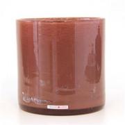 Cylinder glaswerk Altrosa - ø 18 x 18 cm