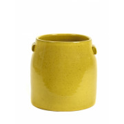Pot Tabor Large Yellow - D30 H28