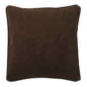 Velvet Chocolate Cushion - 50 x 50 cm