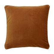 Velvet Caramel Cushion - 50 x 50 cm