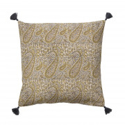 Paisley Curry Cushion - 50 x 50 cm