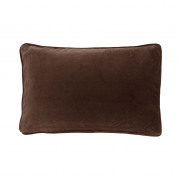 Velvet Chocolate Cushion - 35 x 50 cm