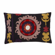 Ravi Curry Embroided Cushion - 35 x 50 cm