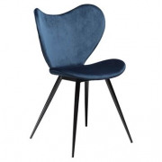 Dreamer chair midnight blue velvet