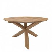 Oak Circle Dining Table - ø 163 x 76 cm