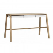 Oak Verso Desk - White - 127 x 75 x 66 cm
