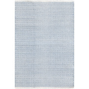 Tapijt Herringbone Swedish Blue - 183 x 274 cm
