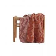 Hide plaid Amber / Roze - 130 x 170 cm