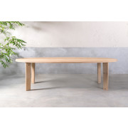 Pure White Ovale tafel (PN23) - 220 x 108 x 76 cm