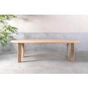 Pure White Ovale tafel (PN24) - 270 x 108 x 76 cm