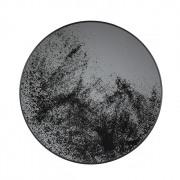 Heavy Aged Mirror Tray - Heavy Aged - ø 61 x 4 cm