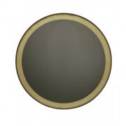 Gold Leaf Bronze Wall Mirror Round - ø 88 x 4 cm