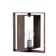 Frame tafellamp Walnoot - 32 x 32 x 30 cm
