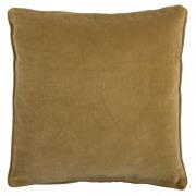 Velvet Ochre Cushion - 50 x 50 cm