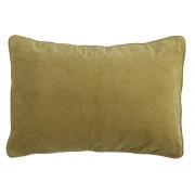 Velvet Ochre Cushion - 35 x 50 cm