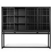 Burung Storage Cupboard - 4 sliding doors - 201x45x172