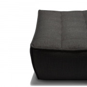 N701 sofa footstool dark grey