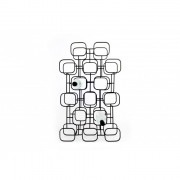 XLBoom - Gavi wijnrek (15 flessen) - 72,5 x 13,5 cm