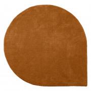 Stilla Drop shaped carpet Amber Dia 260/220