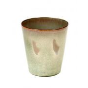 Beker Medium conisch mistig grijs - ø 8,5 x 9,5 cm