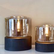 Drum Wood tafellamp