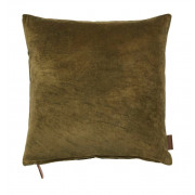 Velvet Soft Mustard Cushion - 50 x 50 cm