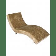 Lyam Velvet Long Chair - 75 x 195 x 78 cm