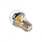 Deco LED lamp E27 G45 dimbaar spiegel
