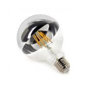 Deco LED lamp E27 G95 dimbaar spiegel