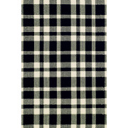Tapijt Tattersall Black - 183 x 274 cm