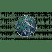 Birds of Paradise Mirror Tray - ø 61 x 4 cm